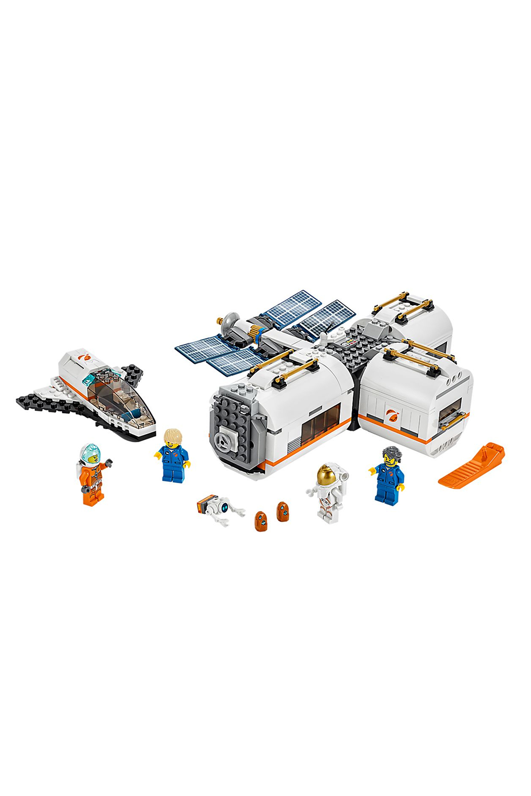 LEGO Luna Space Station - Front Cropped Image