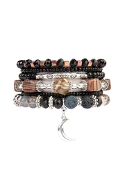 Riah Fashion Luna-Stretch Bracelet Set - Product Mini Image