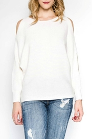 lunik Cold Shoulder Sweater - Product Mini Image