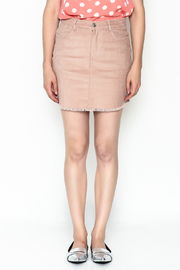 lunik Corduroy Skirt - Front full body