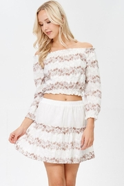 lunik Off Shoulder Top - Product Mini Image