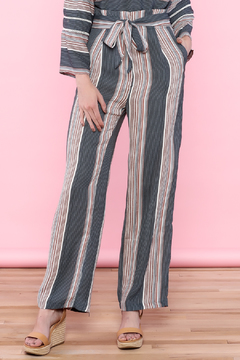 Shoptiques Product: Stripe Tie Pant