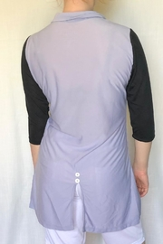 Lur Two Tone Tunic - Front full body