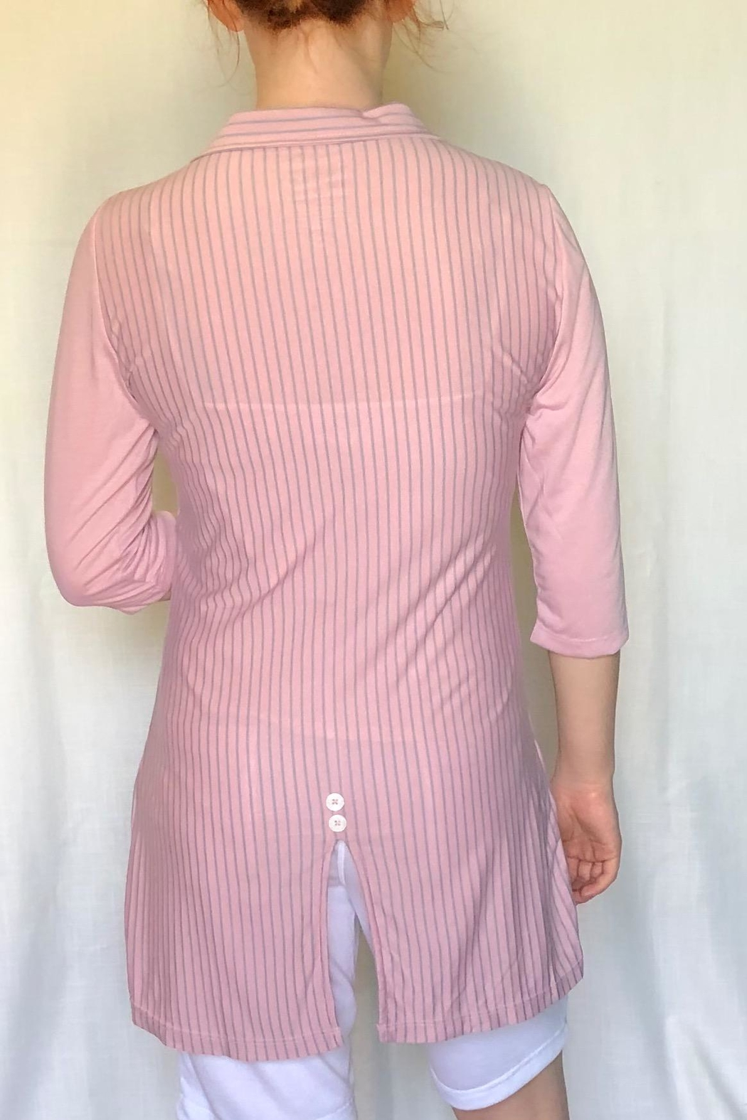 Lur Two Tone Tunic - Front Full Image