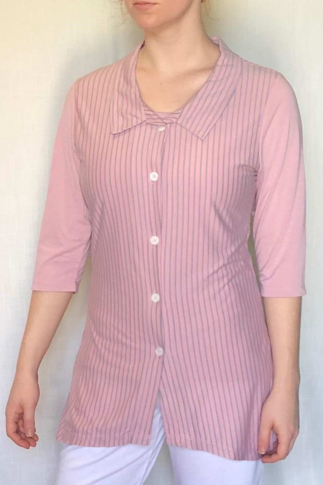 Lur Two Tone Tunic - Front Cropped Image