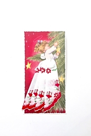 LuRay Collection Holiday Handkerchief Card - Front cropped