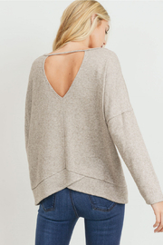 Lyn-Maree's  Lurex Keyhole Back Top - Product Mini Image