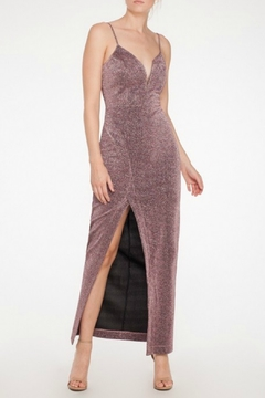 Mystic Lurex Maxi Dress - Product List Image