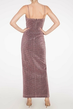 Mystic Lurex Maxi Dress - Alternate List Image