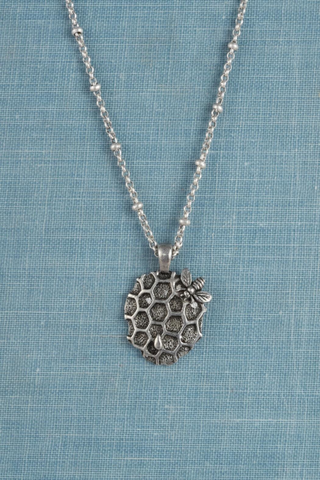Luscious Jewelry PDX Honeycomb Necklace - Main Image
