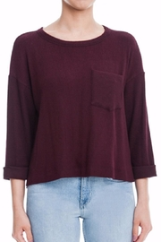 Lush 3/4 Sleeve Tee - Front cropped