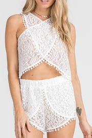 Lush All-Over-Lace Top - Product Mini Image