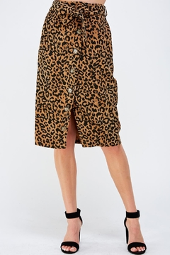 Shoptiques Product: Animal Midi Skirt