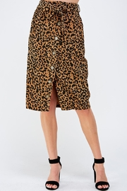 Lush Animal Midi Skirt - Product Mini Image