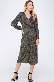 Lush Animal Print Dress - Product Mini Image