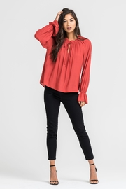 Lush Bell Sleeve Blouse - Product Mini Image