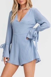 Lush Bell Sleeve Romper - Product Mini Image
