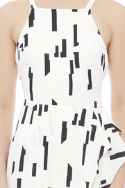 Lush Ivory Printed Dress - Side cropped