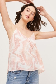 Lush Bow Back Tank Top - Back cropped