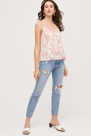 Lush Bow Back Tank Top - Front full body