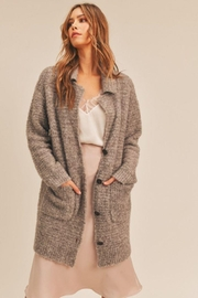 Lush Button Down Cardigan - Side cropped