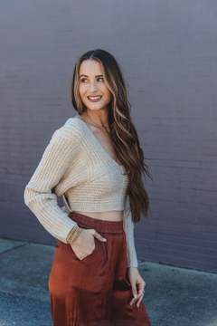 Lush Callaghan Wrap Sweater - Product List Image