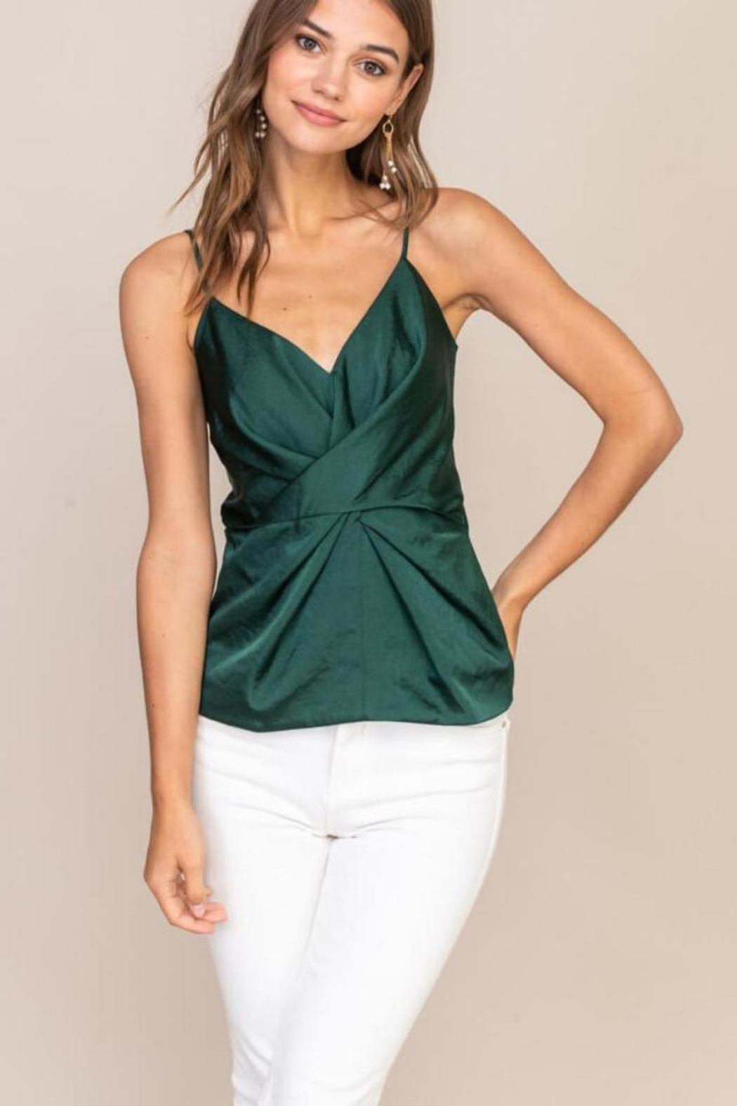 Lush Cami Front-Twist Top - Main Image