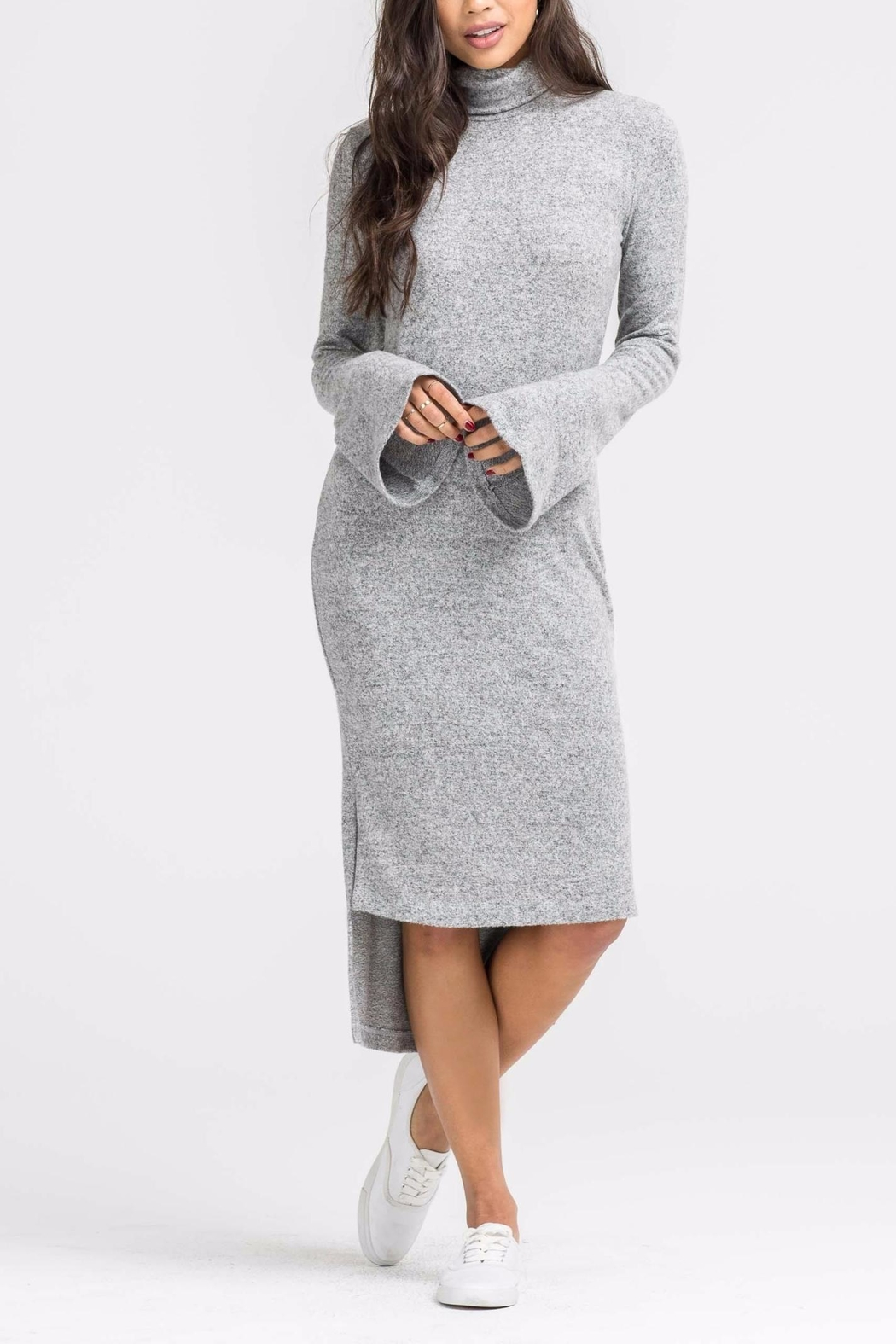 Lush Camille Sweater Dress - Main Image