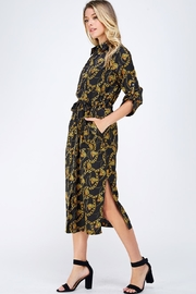 Lush Chain Print Dress - Product Mini Image