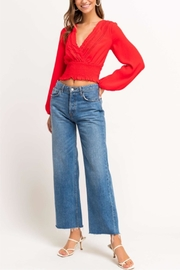 Lush Cherry Pop Crop Top - Back cropped