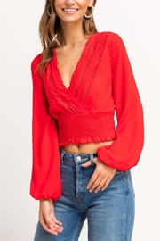 Lush Cherry Pop Crop Top - Product Mini Image