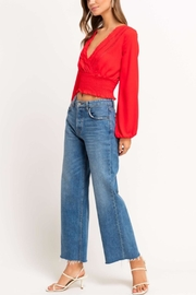 Lush Cherry Pop Crop Top - Front full body