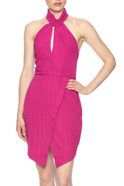 Lush Fuchsia Choker Dress - Product Mini Image