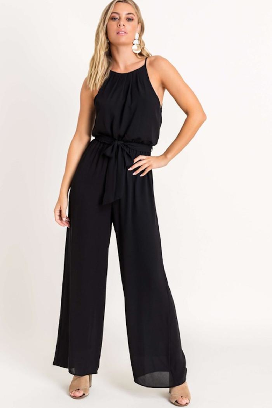 Lush Cocktail Hour Jumpsuit - Front Full Image