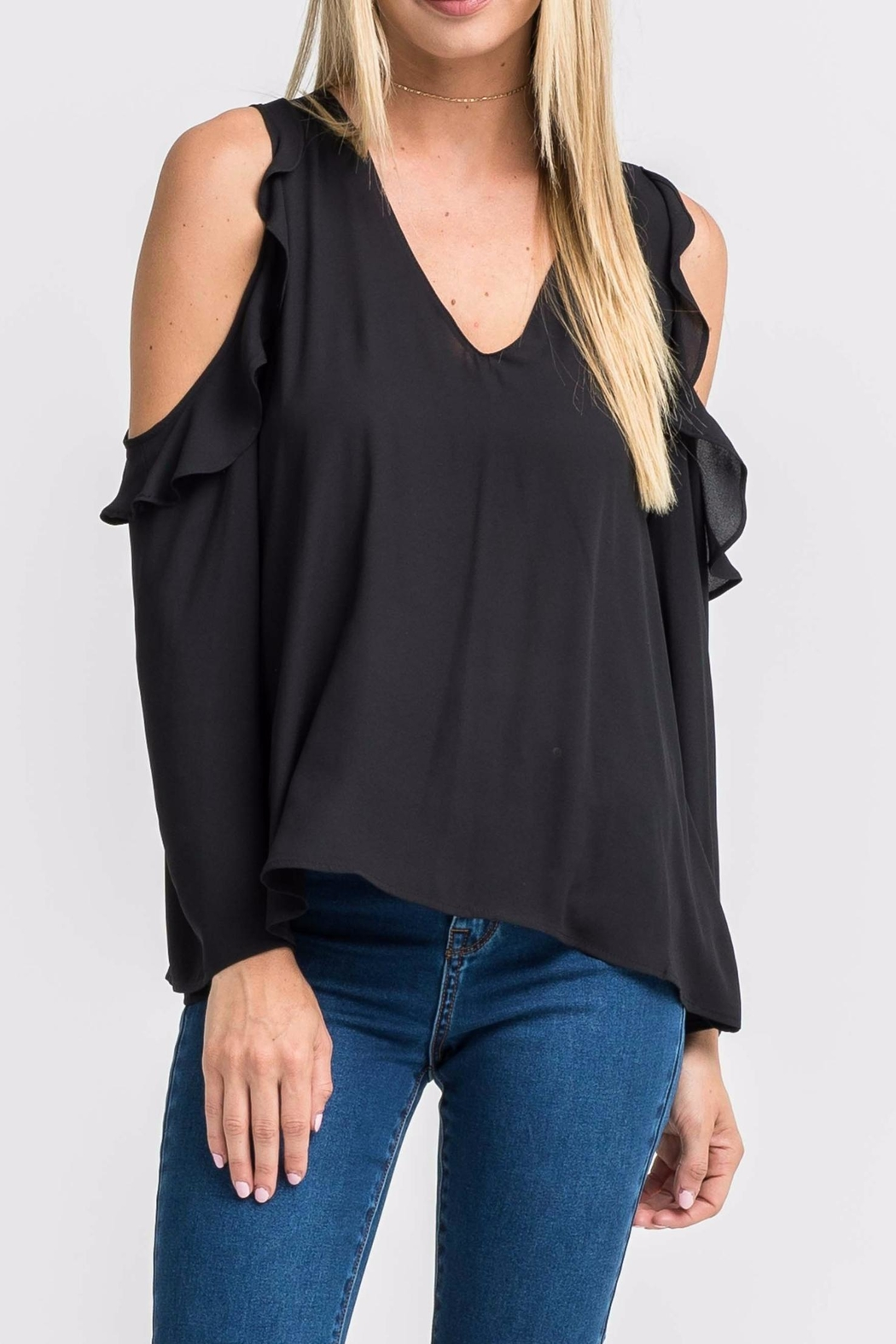 2a2a36cd435b8 Lush Cold Shoulder Top from Tennessee by Threads — Shoptiques
