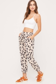 Lush Cozy Printed Pants - Product Mini Image