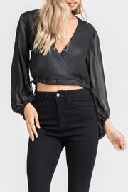 Lush Cross Front Crop Top - Product Mini Image