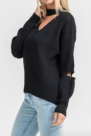 Lush Cutout Detail Sweater - Product Mini Image