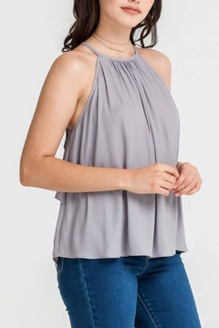 Shoptiques Product: Dobby Ruffle Back
