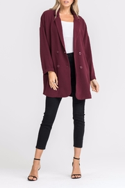 Lush Double-Breasted Jacket - Front full body