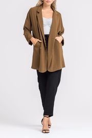 Lush Double-Breasted Jacket - Front cropped