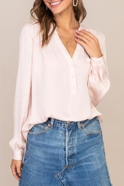 Lush Dusting Of Dots Blouse - Front cropped