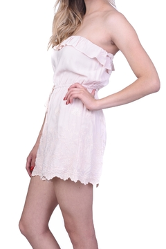 Shoptiques Product: Light Pink Embroidered Romper