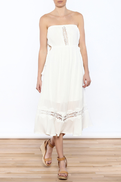 Shoptiques Product: Embroidered Tube Dress