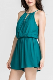 Lush Everglade Romper - Front cropped