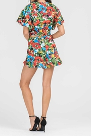 Lush Floral Crop Top - Side cropped