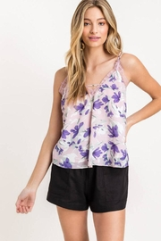 Lush Floral Lace Cami - Product Mini Image