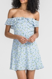 Lush Floral Print Dress - Product Mini Image