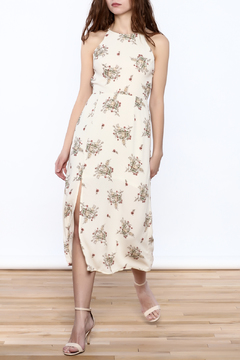 Lush Flower Midi Dress - Product List Image