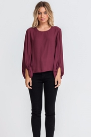Lush Flowy Sleeve Top - Product Mini Image